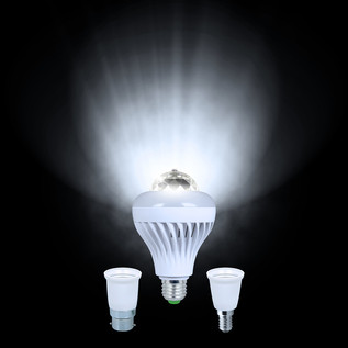 KAM Moonbulb Duo Rotating FX Lightbulb