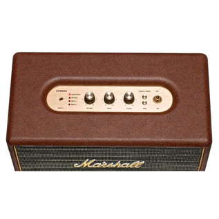 Marshall Stanmore Active Stereo Hi-Fi Speaker, Brown 2