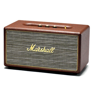 Marshall Stanmore Active Stereo Hi-Fi Speaker, Brown