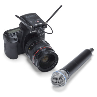 Samson Concert 88V Camera System Handheld, CH38 (Camera Not Included)