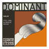 DISC Thomastik Dominant violon 1/16 E String, Aluminium (boule)