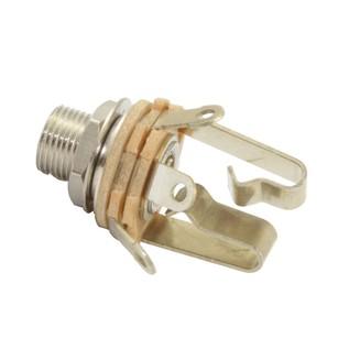 Switchcraft 1/4 inch Input Jack Stereo w 3/8 Inch Threaded Bushing
