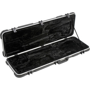 SKB Electric P/J Type Bass Hardshell Case - Case Open