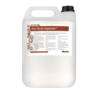 Martin 2.5 Litre Pro Clean Supreme Smoke Machine and Hazer Cleaner