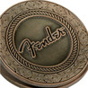 Fender alten West-Magnet-Clip, Antique Brass
