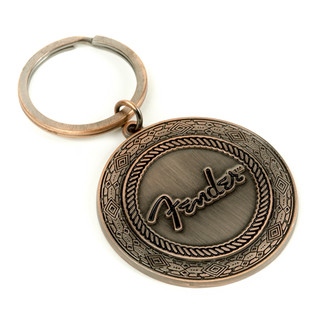Fender Old West Key Chain, Antique Copper