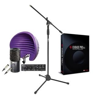 Steinberg Ultimate Vocal Recording Bundle, Includes Cubase Pro 8.5