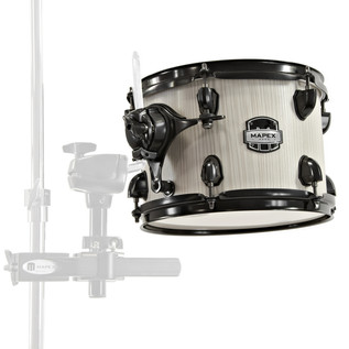 Mapex Mars 10'' x 7'' Tom with Clamp, Bonewood