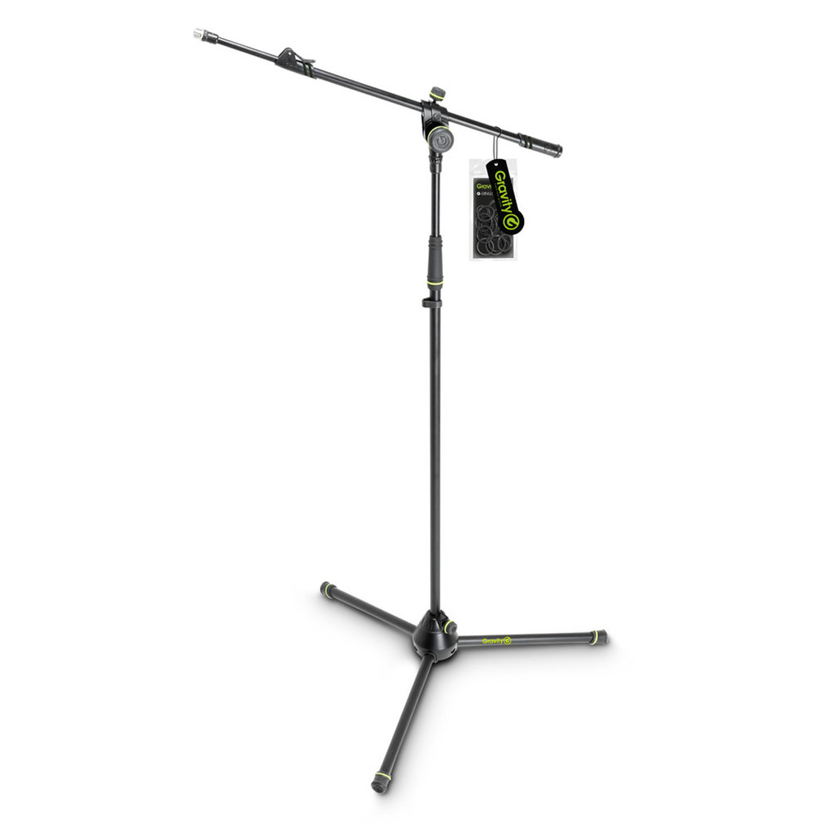 Image of Gravity GMS4322B Microphone Stand with Telescopic Boom