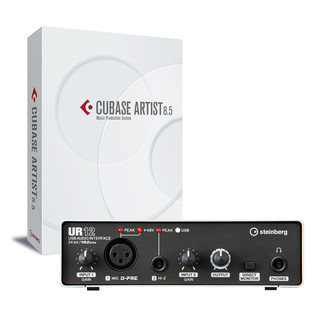 Steinberg Cubase Artist 8.5 with UR12 USB Audio Interface