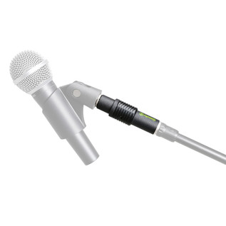 Gravity GMSQC1B Quick Coupler for Mic Clips and Boom Arms (Mic + Stand Not Included)
