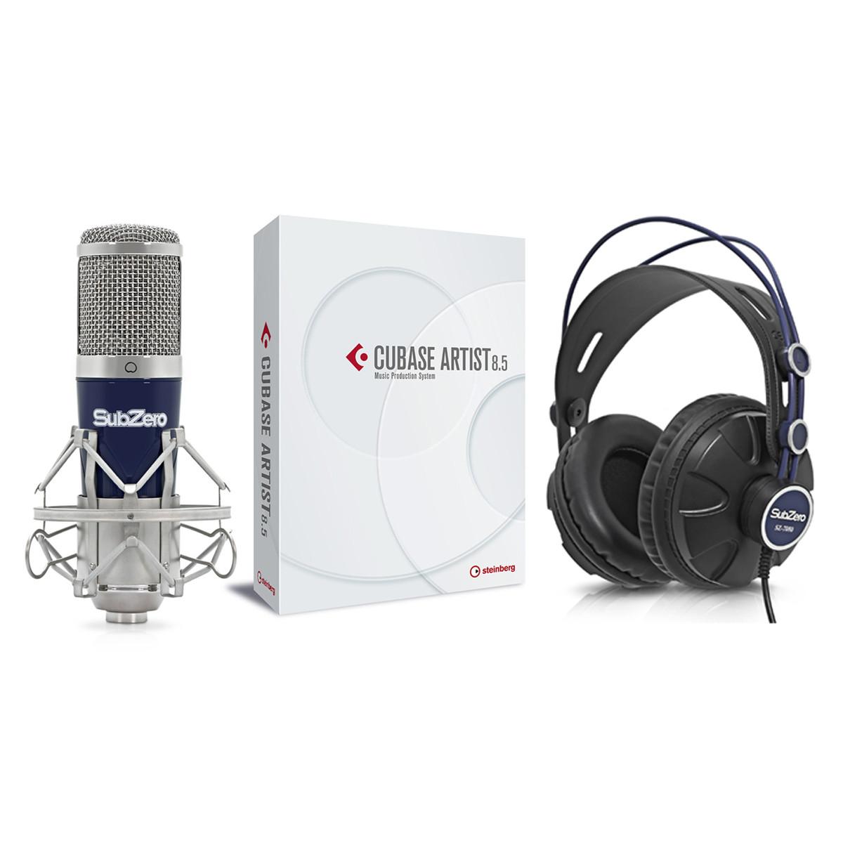 Image of Steinberg Cubase Artist 8.5 Vocal Recording Bundle