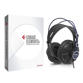 Steinberg Cubase Elements 8 with Subzero Headphones