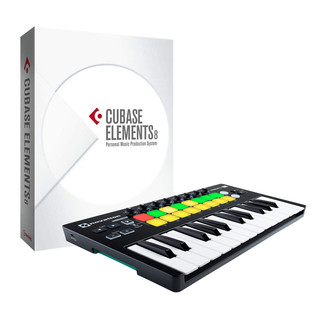 Steinberg Cubase Elements 8 with Novation LaunchKey Mini MK2