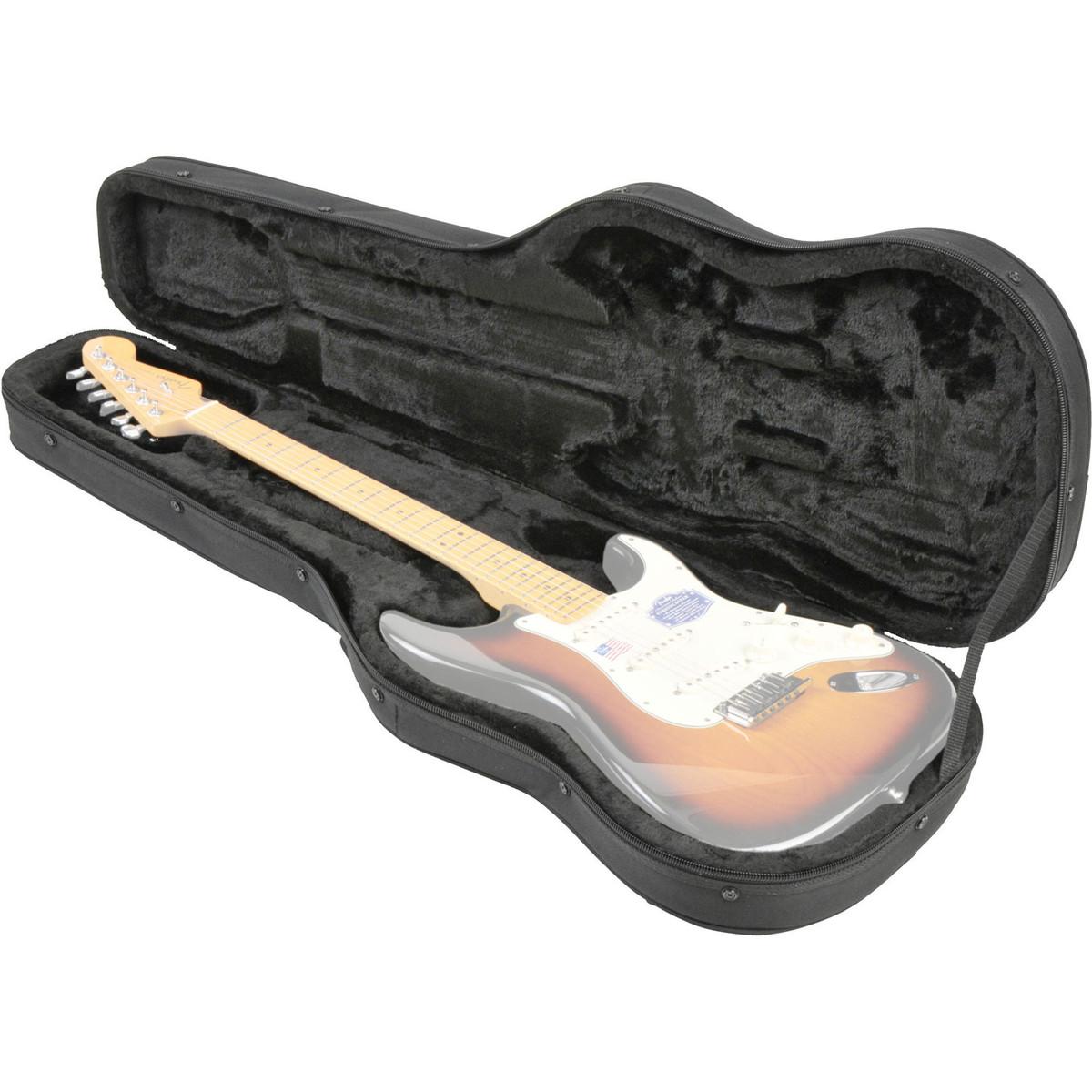 skb scfs6 universal electric guitar soft case at. Black Bedroom Furniture Sets. Home Design Ideas