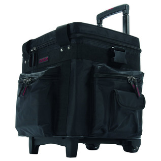 Magma LP Bag 100 Trolley, Black/Red