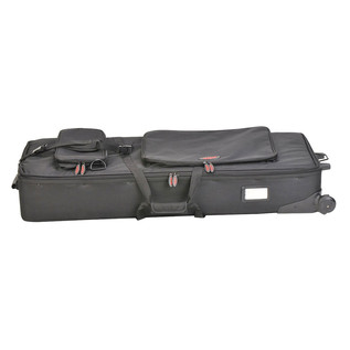 SKB 61-Key Keyboard Soft Case with Wheels - Side
