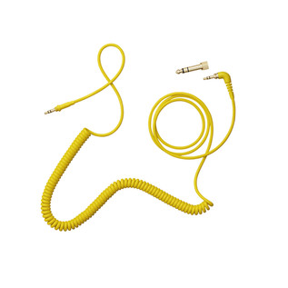 AIAIAI TMA-2 C09 Yellow Cable, 1.5m Coiled