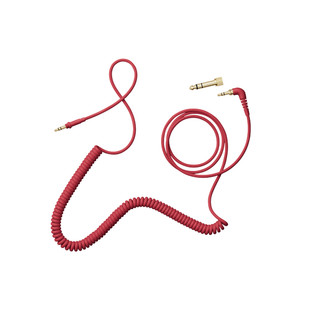 AIAIAI TMA-2 C010 Red Cable, 1.5m Coiled