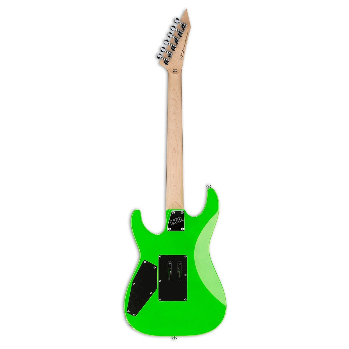 black neon electric guitar - photo #28