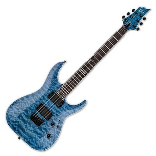 ESP LTD H-401QM Electric Guitar, Faded Sky Blue