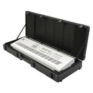 SKB Roto Molded 88 Note Keyboard Case - Open (Keyboard Not Included)