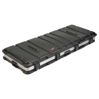 SKB ATA 88 Note Keyboard TSA Case With Wheels - Closed