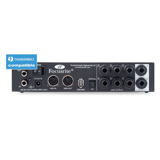 Focusrite Saffire Pro 24 Firewire and Thunderbolt Audio Interface