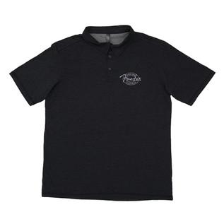Fender Industrial Polo Shirt, Black, Small
