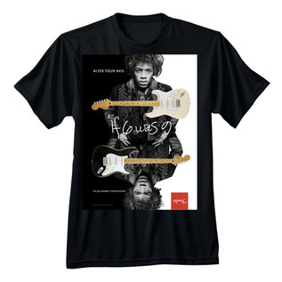 Fender Jimi Hendrix Alter Your Axis T-Shirt, Black, XL