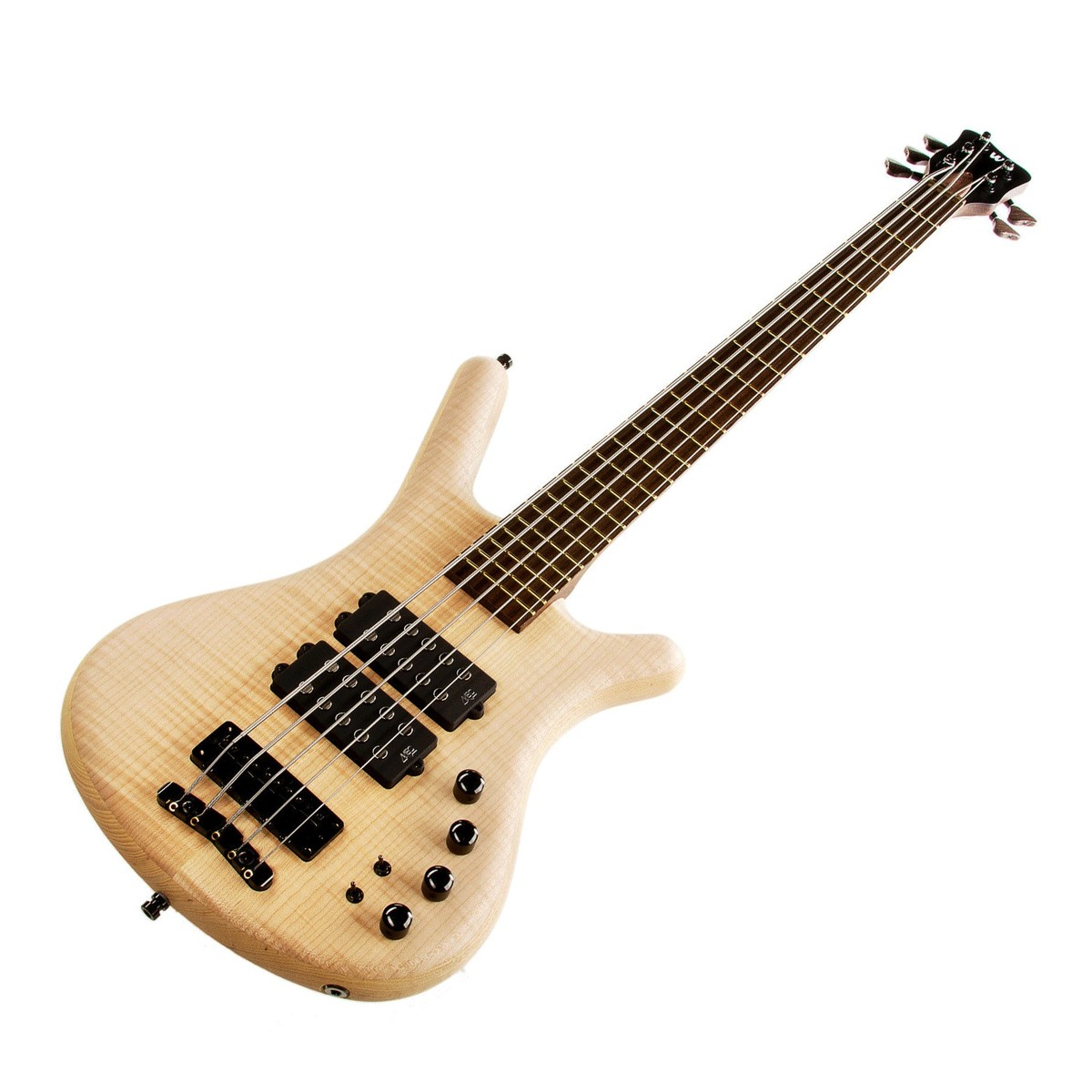 Warwick Corvette 5 String Bass Guitar Natural At