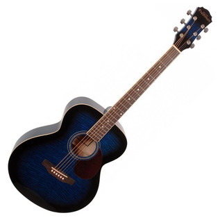Freshman RENFBL Folk Acoustic Guitar, Blue