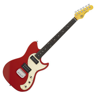G & L Tribute Fallout Electric Guitar, Fullerton Red