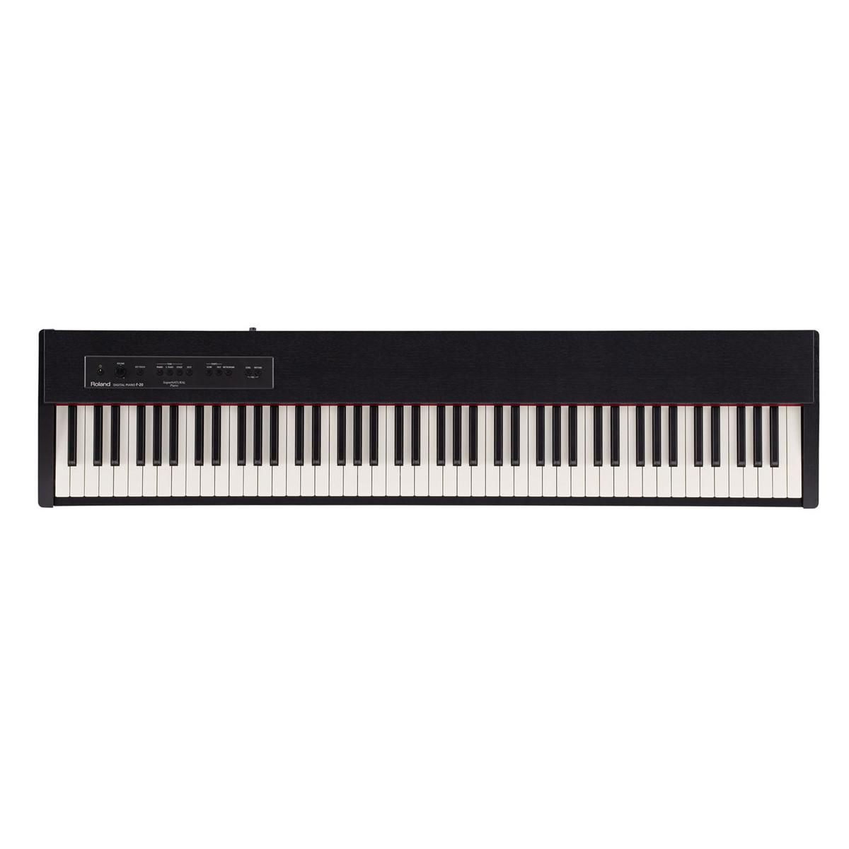 Image of Roland F-20 Portable Digital Piano Contemporary Black