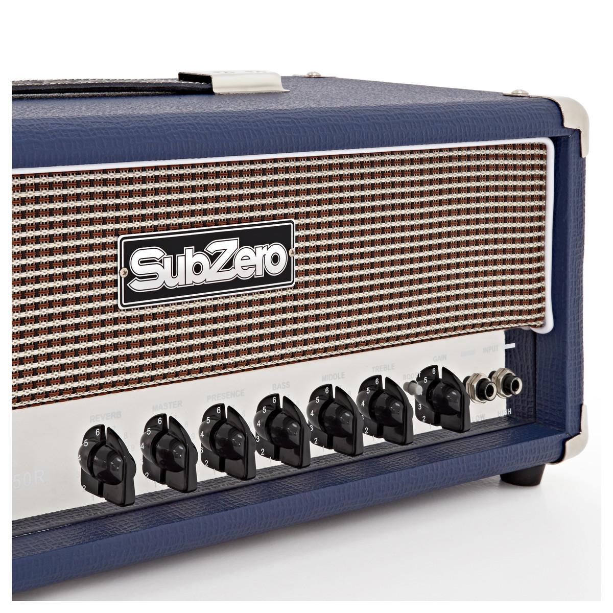 subzero tube h50r 50w valve guitar amp head at. Black Bedroom Furniture Sets. Home Design Ideas