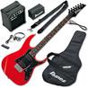 Ibanez IJRG200 hyppy alku kitara paketti, punainen - entinen esittelykappale
