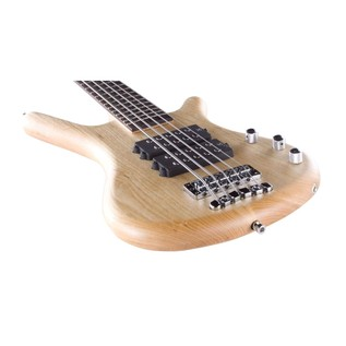 Warwick Rockbass Corvette $$ 5-String Bass Guitar, Natural Satin