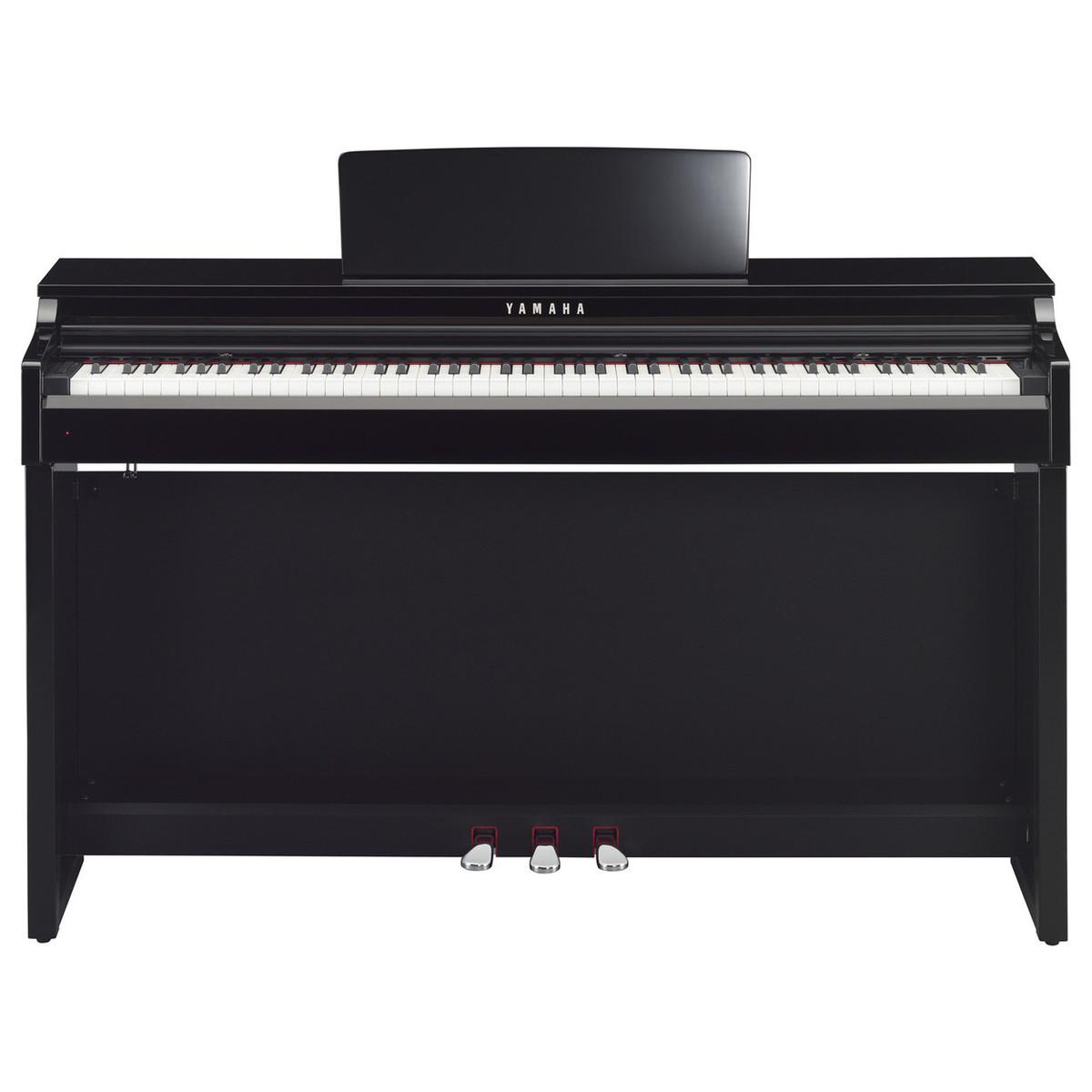 Yamaha clp525 clavinova digital piano package polished for Yamaha digital piano clavinova