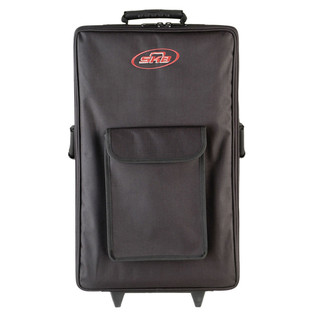 SKB Large Rolling Powered Speaker/Mixer Soft Case - Front