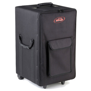 SKB Large Rolling Powered Speaker/Mixer Soft Case - Angled