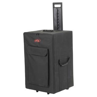 SKB Rolling Speaker Case - Angled