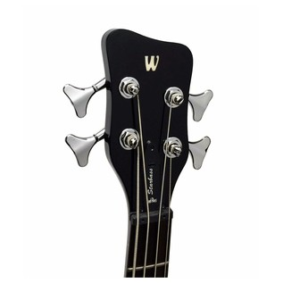 Warwick Rockbass StarBass 4-String Bass, Black High Polsih