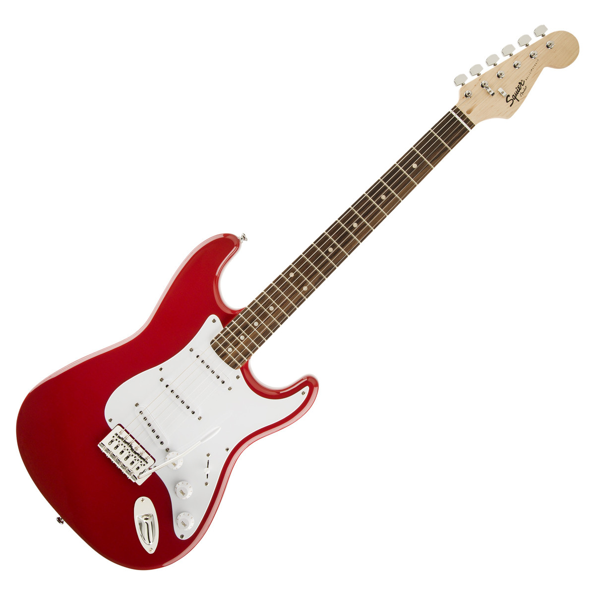 squier by fender bullet stratocaster fiesta red at. Black Bedroom Furniture Sets. Home Design Ideas