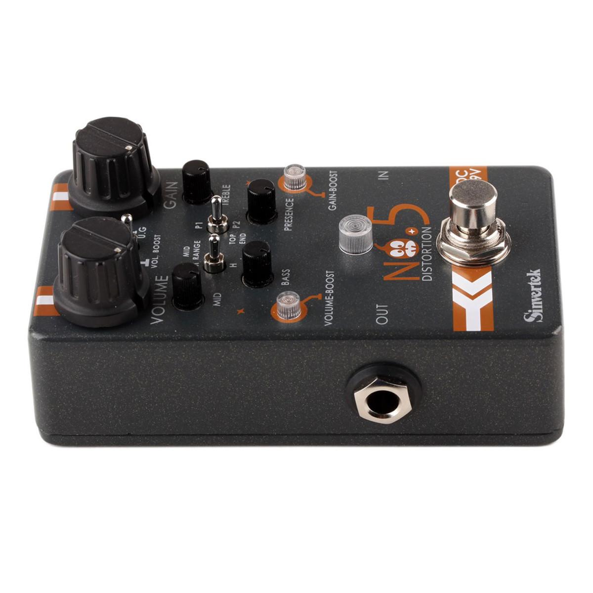 Sinvertek Distortion No.5 Guitar Pedal at Gear4music.com