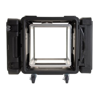 SKB 24'' Deep 10U Roto Shockmount Rack Case - Front Open