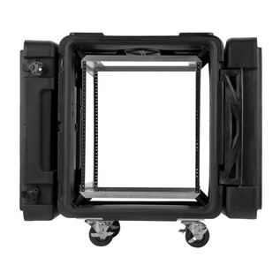 SKB 24'' Deep 12U Roto Shockmount Rack Case - Front Open