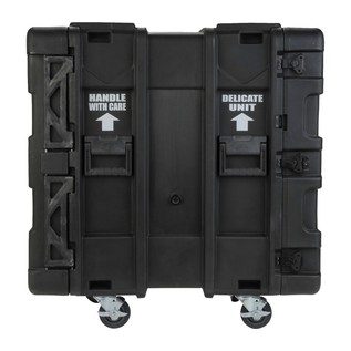 SKB 24'' Deep 14U Roto Shockmount Rack Case - Side