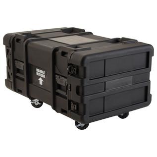 SKB 28'' Deep 6U Roto Moulded Shock Rack Case - Angled