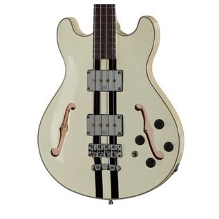 Warwick Rockbass StarBass 4-String Bass, Racing White