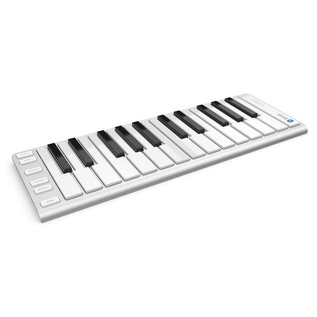CME Xkey Air 25 Bluetooth Controller Keyboard - Angled